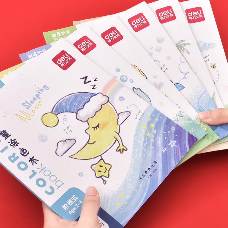 Эффективная детская книжка-раскраска детский сад раскраска картины и детская картина книга-раскраска