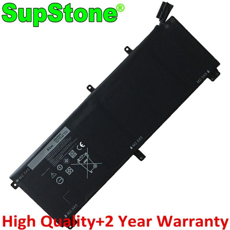 SupStone حقيقية 61Wh TOTRM 7D1WJ H76MV Y758W بطارية كمبيوتر محمول لديل XPS 15 9535 9530 الدقة M3800 P31F T0TRM P31F001 07D1WJ