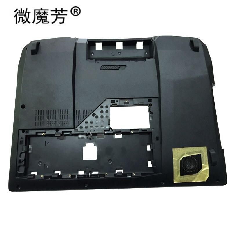 غطاء سفلي جديد للكمبيوتر المحمول ، جراب سفلي لـ Asus G750JH G750JS ، PN : 13N0-PCA0221 13NB0181AP0121 ، أسود