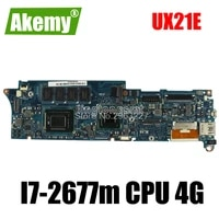 high quality ux21e laptop motherboard mainboard i7 2677m i7 2640m cpu 4g qs67 chipset usb3 0 with 100 tested