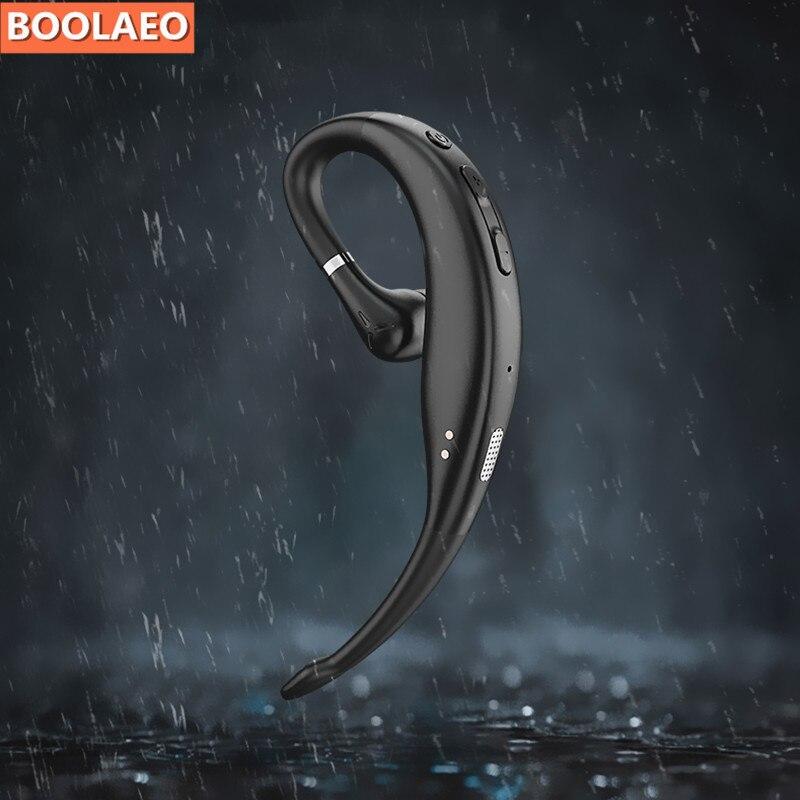 K38 auriculares Bluetooth 5,0 auriculares manos libres coche inalámbrico auriculares negocios mic Drive llamada auriculares deportivos para iphone Samsung