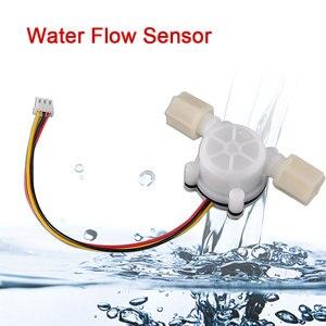 DIY Kit 1pcs Water Flow Sensor Switch Meter Counter Flowmeter Hall Flow Sensor Water Control 0.3-6L/min 2 in charge