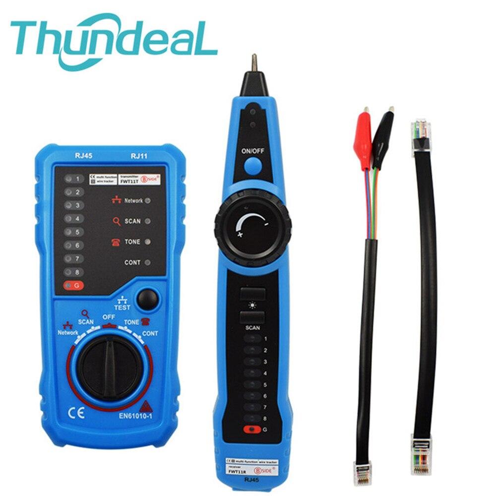 Testador de Fio Localizador de Linha Rede Rj45 Detector Telefone Rastreador Cabo Toner Ethernet Lan Cat5 Cat6 Rj11