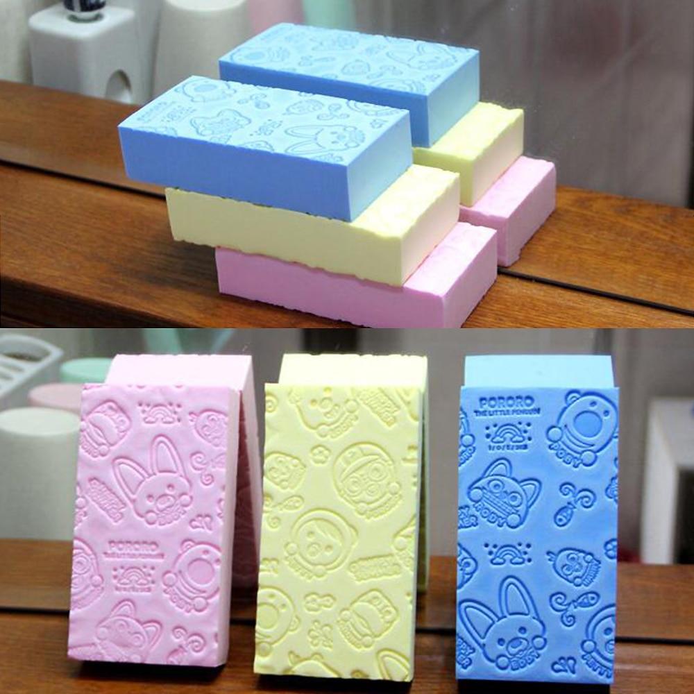 Women's special exfoliating beauty skin care sponge Kids Soft Skin Shower 1pc недорого