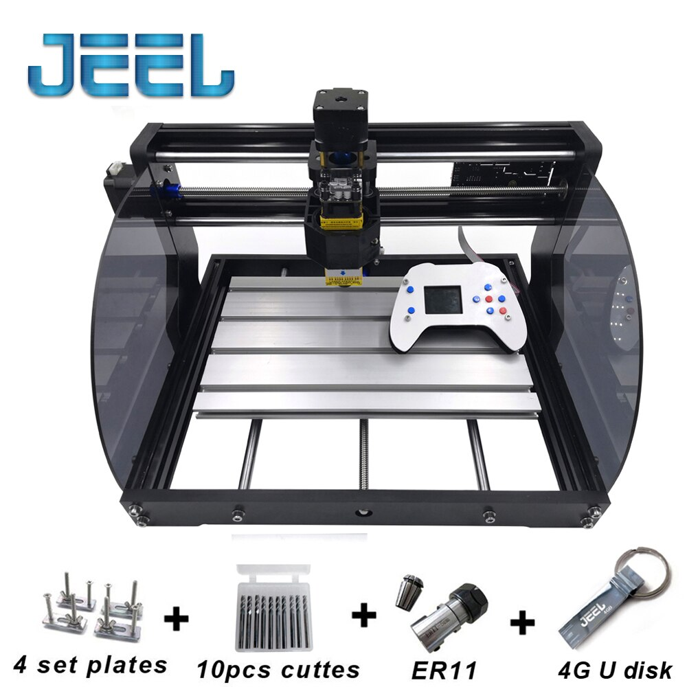 cnc3018 with er11 diy mini cnc engraving machine laser engraving pcb pvc milling machine wood router cnc 3018 best advanced toys DIY CNC 3018 Pro MAX GRBL,3 Axis PCB Milling Machine,CNC Router Laser Engraving,CNC3018 Max With  New Offline