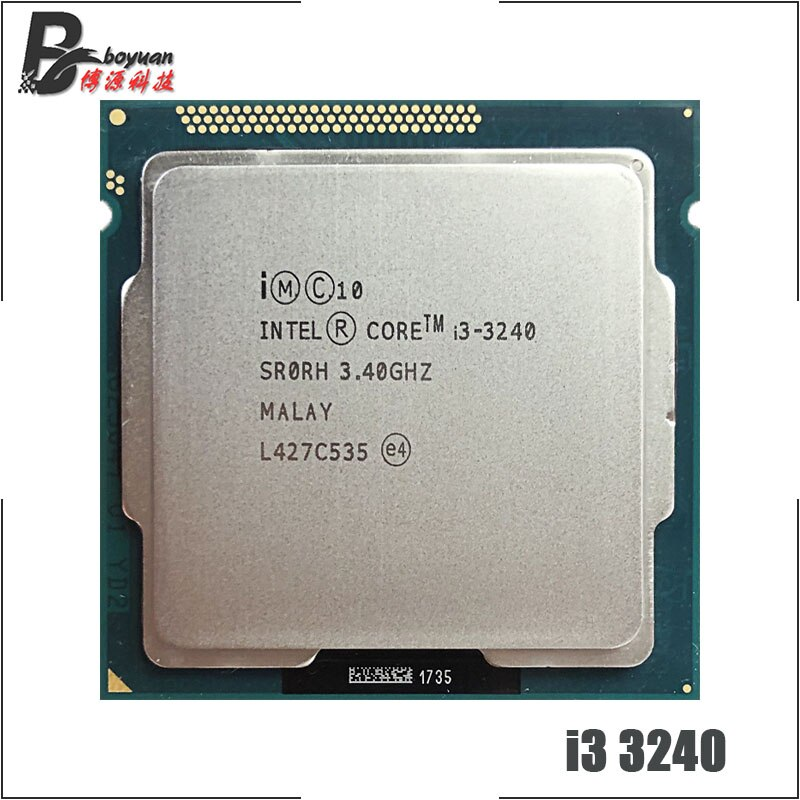 Intel core i3 3240 i3 3240 3.4 ghz processador central de núcleo duplo 3 m 55 w lga 1155 cpu processor i3 3240core i3-3240 -