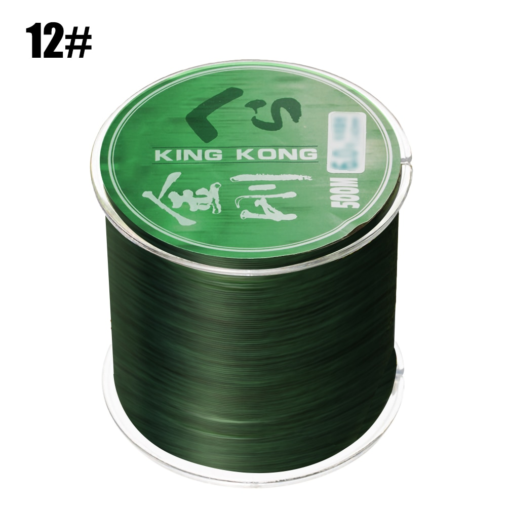 500m Fluorocarbon Invisible Spoted Line Fly Fishing Line Bionic Monofilament Fish Line Speckle carp Nylon Thread Fishing Line 200 meters speckle fluorocarbon coating nylon fishing line sinking high abrasion resistance stretchable super invisible line