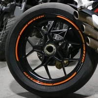 5 colors car styling strips reflective motocross bike motorcycle wheel stickers and decals 1718 inch reflective rim tape