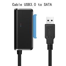 Newest USB3.0 Easy Drive Sata Cable USB3.0 To SATA Adapter Cable 2.5/3.5 Inch Hard Drive Data Cables Sata To Usb 3.0 Sata Usb