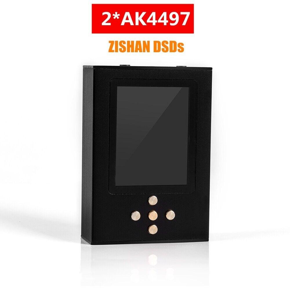 2020 Zishan DSDs Dual AK4497 reproductor de música profesional MP3 DAP decodificación de Hardware portátil de alta fidelidad 2,5mm equilibrado 2 * AK4497EQ 4497