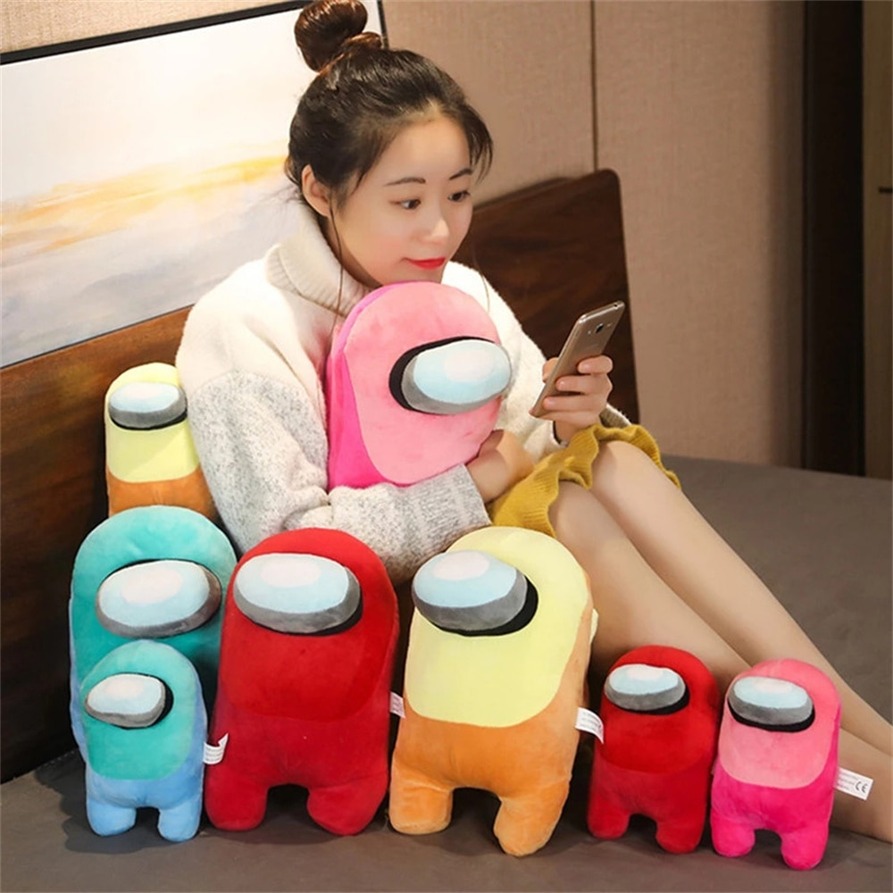 Среди нас 20 см 30 см среди нас плюшевые игрушки мягкие набивные куклы популярная игра фигурки животных плюшевый подарок для детей игрушки дл...