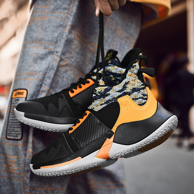 Zapatillas de baloncesto para hombre, Zapatillas altas de marca, zapatillas deportivas para hombre, zapatillas atléticas para exteriores, baloncesto Tenis