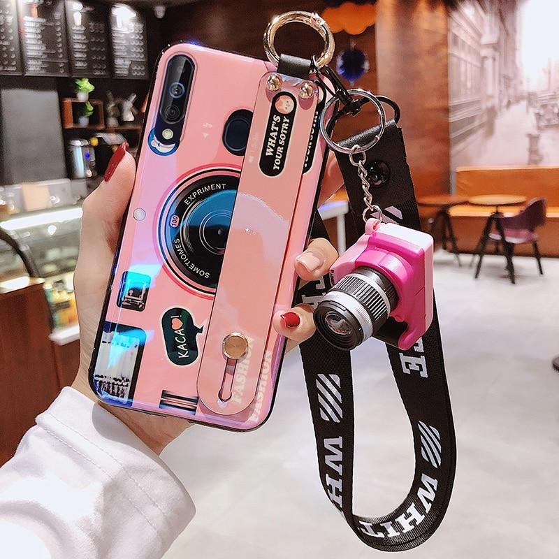 Для Samsung Galaxy S20 Ultra Note 10 Plus 5G 9 8 S10 e S9 S8 A51 A71 чехол силиконовый IMD ремешок для наручных часов