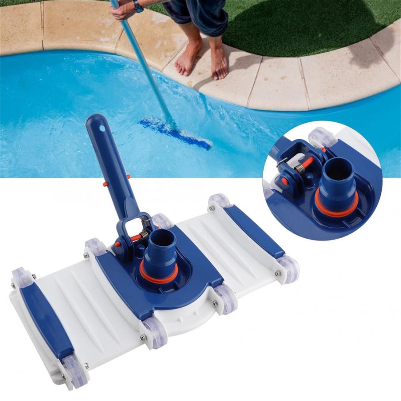 Cepillo de limpieza portátil para piscina, Cepillo de limpieza portátil para piscinas,...