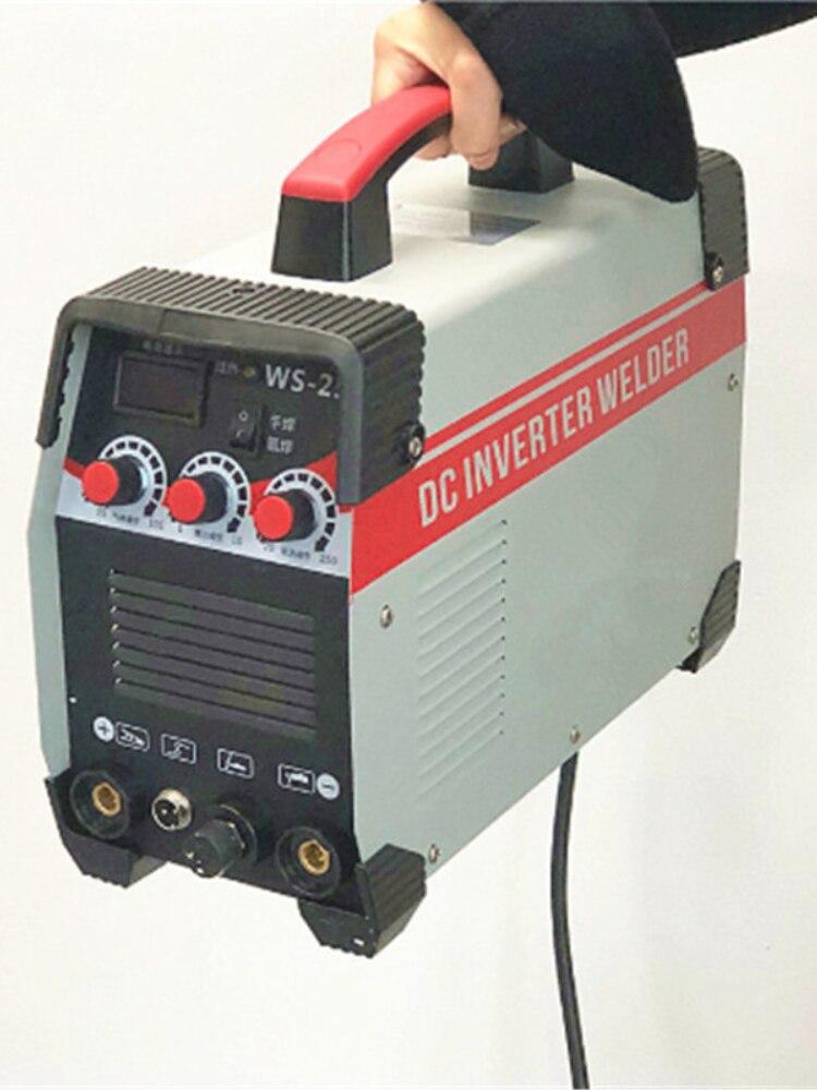Soldador inversor 2 en 1 arco/TIG IGBT máquina de soldadura eléctrica 220V...