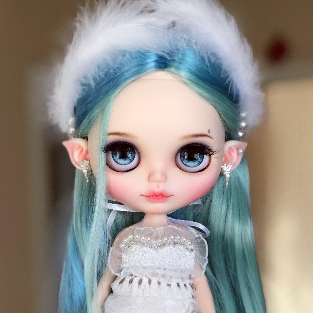[Ограниченная продажа] Специальное предложение Блит ледяной голая кукла 1/6 с Макияж подходит для DIY Бесплатная доставка