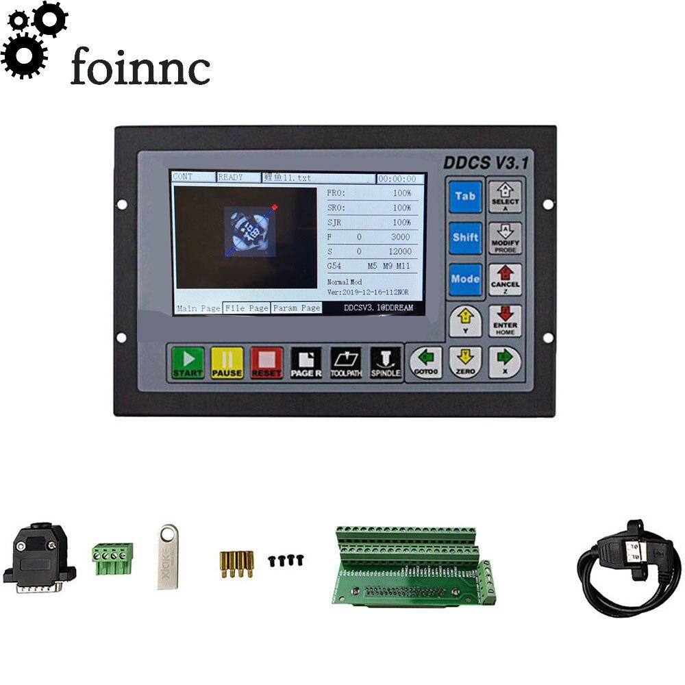 وحدة تحكم حركة مستقلة ddcsv3.1 ، تدعم وحدة تحكم USB CNC 3 محاور/4 محاور ، منتجات جديدة متاحة للبيع!