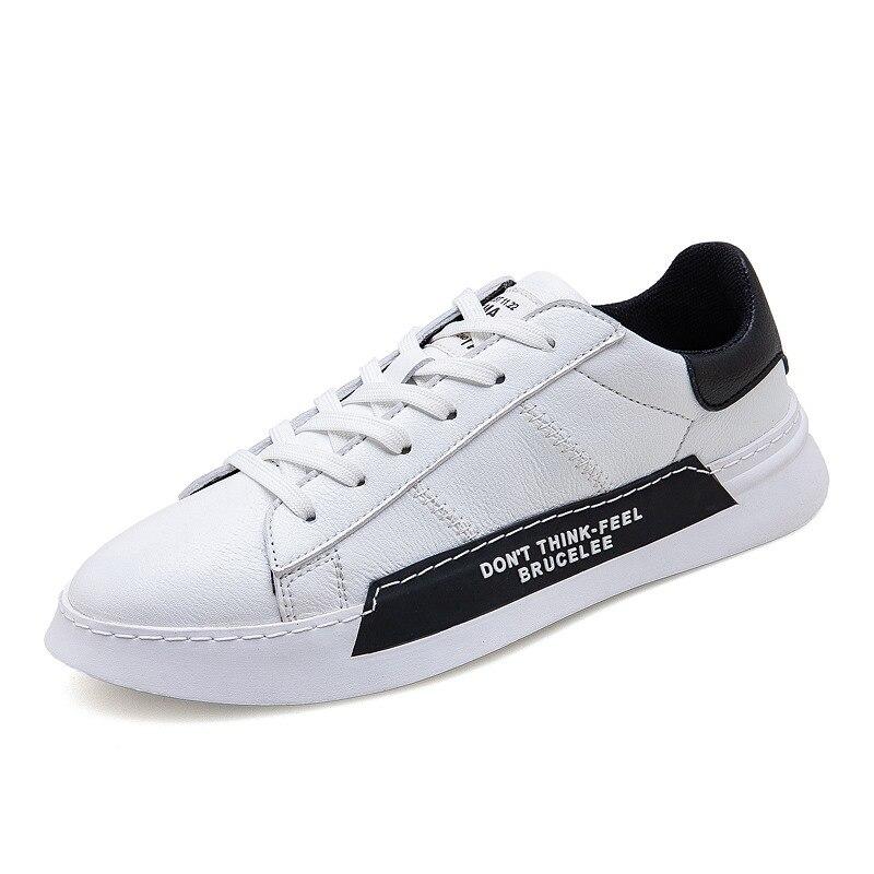 Nuevos zapatos casuales De los hombres De zapatos De cuero De los...