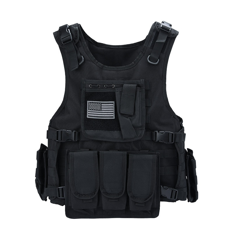 USMC Tactical Plate Carrier Vest Outdoor Hunting Protective Adjustable MODULAR Vest for Airsoft Combat Accessories Hunting Vest
