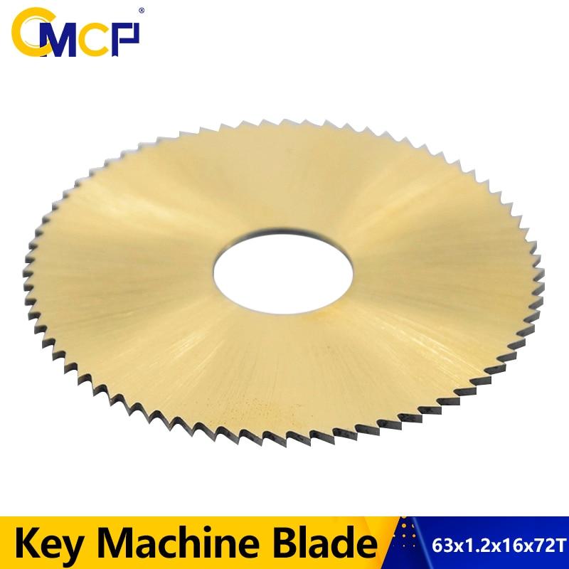 1 ud. De diámetro 63mm 72T, máquina clave Circular, hoja de sierra, cortadora de llaves, hoja apta para 238BS 238RS, máquina de corte de llaves, herramientas de cerrajero