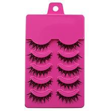 Hot 5 Pairs Makeup Handmade Messy Cross False Eyelashes Perfect Eye Lashes Beauty & Health