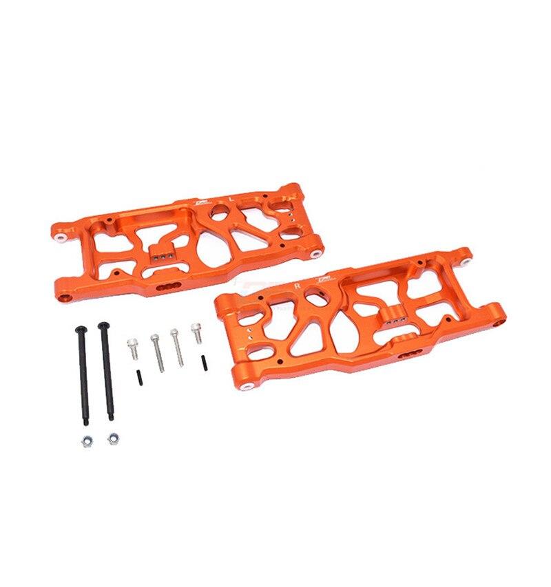 Aluminum alloy rear lower swingarm FOR ARRMA 1/5 KRATON 8S ARA110002T1/ARA110002T2 ARA330590+ARA330564-pair enlarge