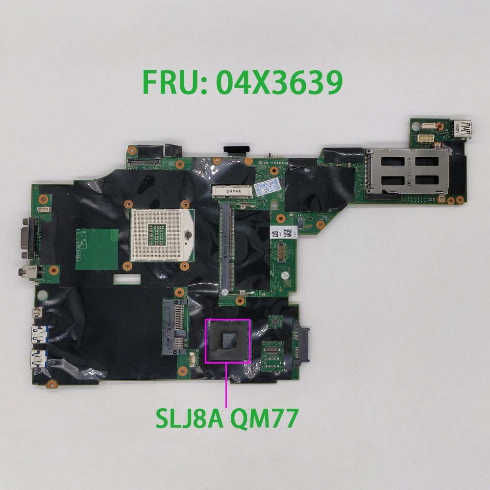 Para lenovo thinkpad t430 t430i fru pn 04x3639 slj8a computador portátil placa-mãe mainboard notebook pc testado