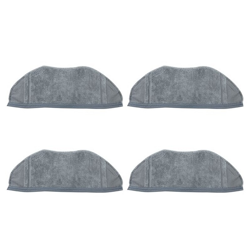 Accesorios Mops para 360 X90 X95 paño de limpieza lavable para aspiradora, piezas de tela especial reemplazable 4 piezas