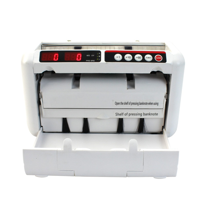 Portable UV MG fake money detector bill counter  For Most Banknote Bills Cash Counters cash counting machine