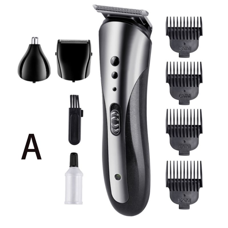 3 In 1 Electric Clipper Razor Beard Shaver Nose Hair Trimmer Limit Comb Grooming enlarge
