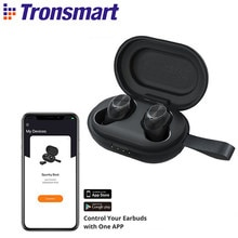 Tronsmart Spunky Beat Wireless TWS Earphone APTX Bluetooth Earbuds with QualcommChip, CVC 8.0, Touch