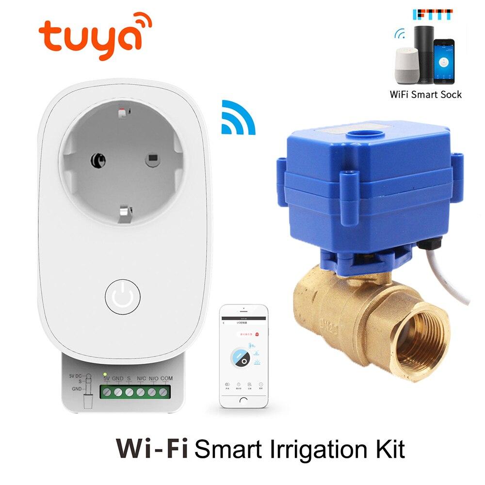 Garden water Timer Automatic Irrigation Garden Watering System Plant Water Timer Tuya WiFi Intelligent Controller