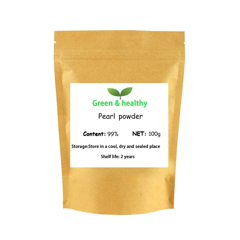 Grado cosmético polvo de perla 100% puro Natural de agua dulce Nano polvo de perla