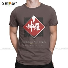 Nouveauté shin-ra société T-Shirts pour hommes 100% coton t-shirt Final Fantasy VII jeu vidéo manches courtes T-Shirts grande taille vêtements