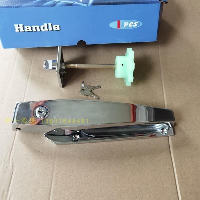 KTL refrigerator door lock door handle cold doorknob ah1600 frozen cold storage large-handedness sliding door handles enlarge