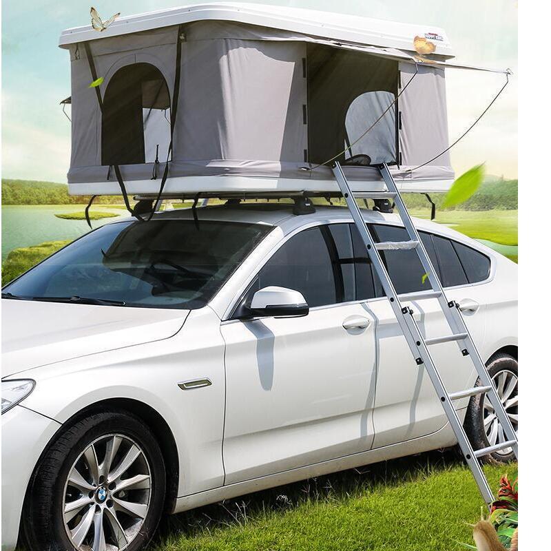 سقف خيمة ABS سقف صلب مقاوم للماء واقية من الشمس الهيدروليكية شبه التلقائي خيمة التخييم سقف