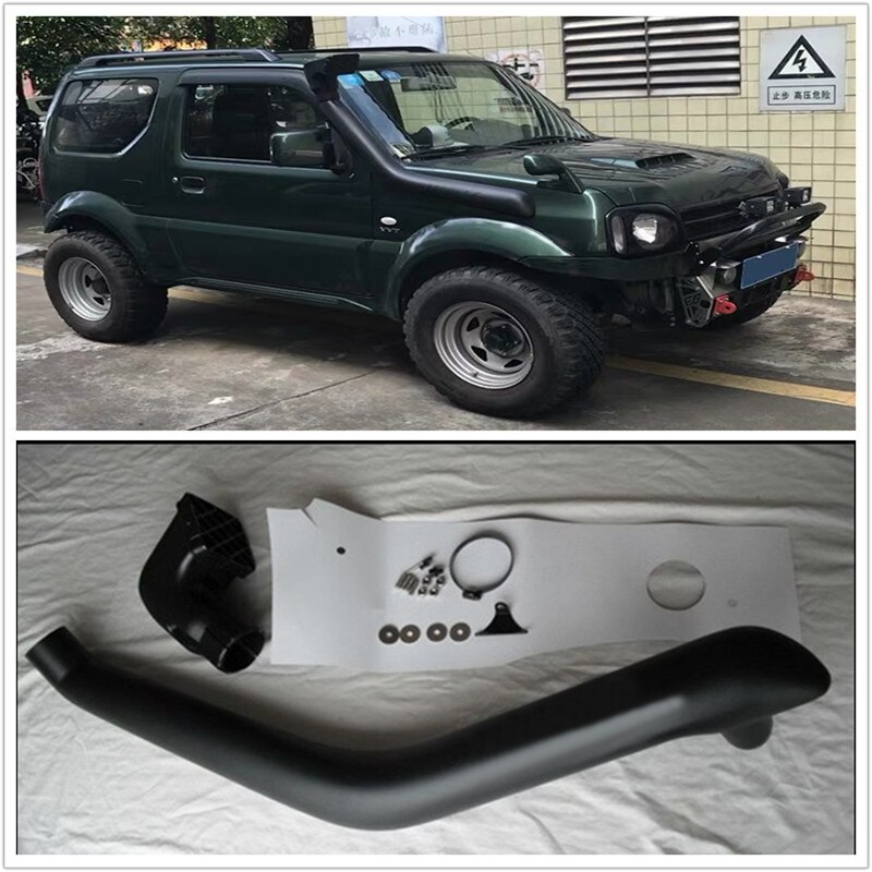 4x4 LLDPE SNORKEL KITS EXTERIOR AUTO PARTS EXTRA AIR INTAKE PIPE SNORKEL TUBE FIT FOR SUZUKI JIMNY 1997-2015 Model 1.3L Petrol