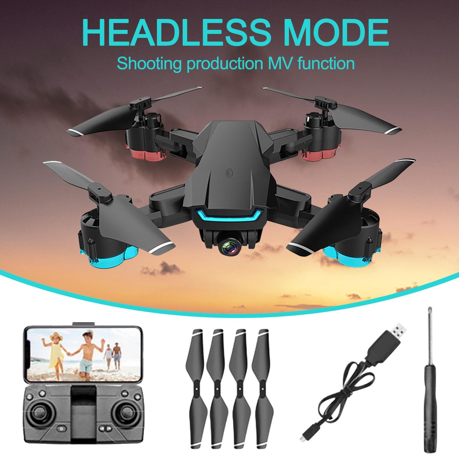 Decoração de Desktop Nova Drone hd Câmera Grande Angular Wifi Fpv Dupla Telecontrolled Brinquedo Aeronaves Casa Miniaturas 2021 rc 4k