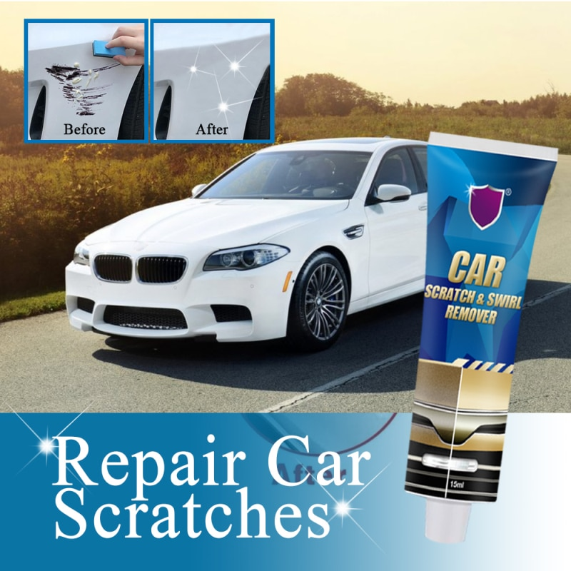 Auto Scratch Repair Tool Car Scratches Repair Polishing Wax Anti Scratch 4pc Upholstery Clean Car Scratch and Swirl Remover
