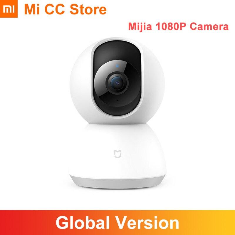 Wi-fi sem Fio Câmera de Visão Áudio em Dois Segurança em Casa Xiaomi Mijia Câmera Ptz Mini Noturna Infravermelha Sentidos mi Cctv 1080p 360