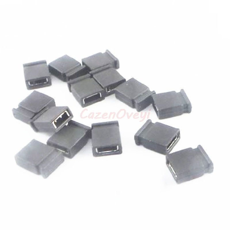 10 unids/lote 2,54mm tapa del Puente de la placa de circuito Shunts tapa de cortocircuito Puente de la computadora tapa de derivación de los Jumpers en Stock