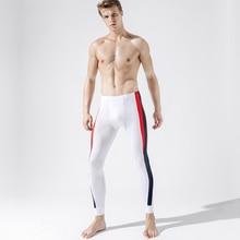 Sleep Bottoms Long Johns Training-Pants Fitness Low-Waist  Soft Tight Leggings Fashion Running Low-W
