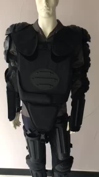 بدلة مكافحة الشغب, معدات عسكرية للشرطة درع للجسم
