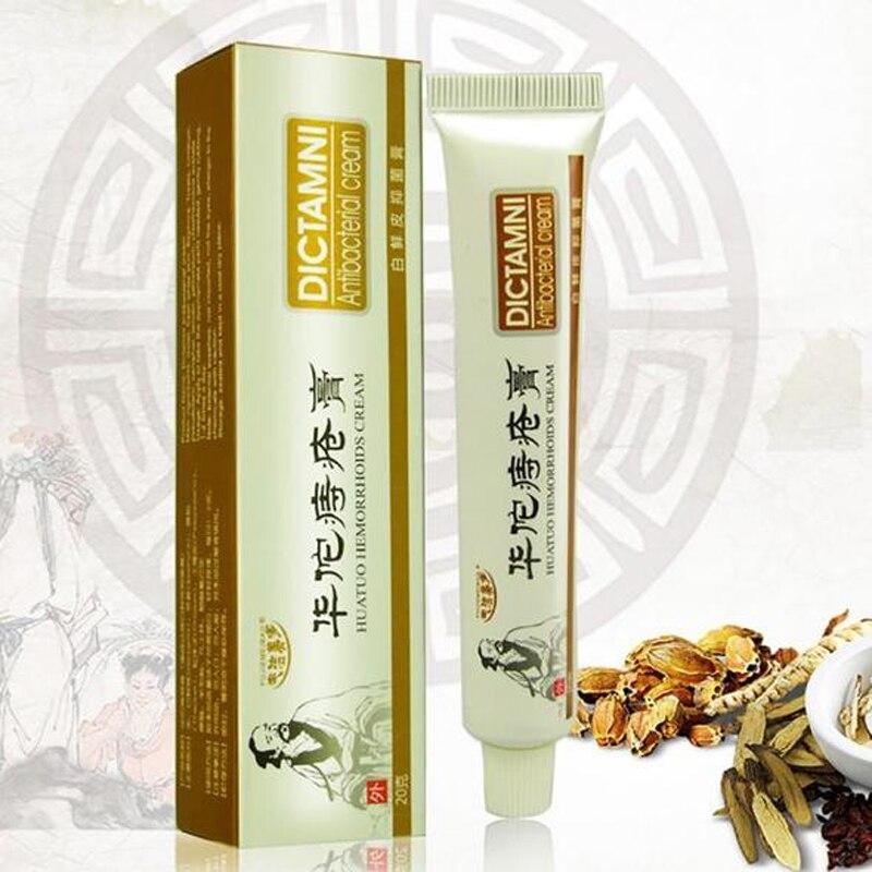 20pcs Hua Tuo Herbal Hemorrhoids Cream Internal Hemorrhoids Piles External Anal Fissure Drop shipping