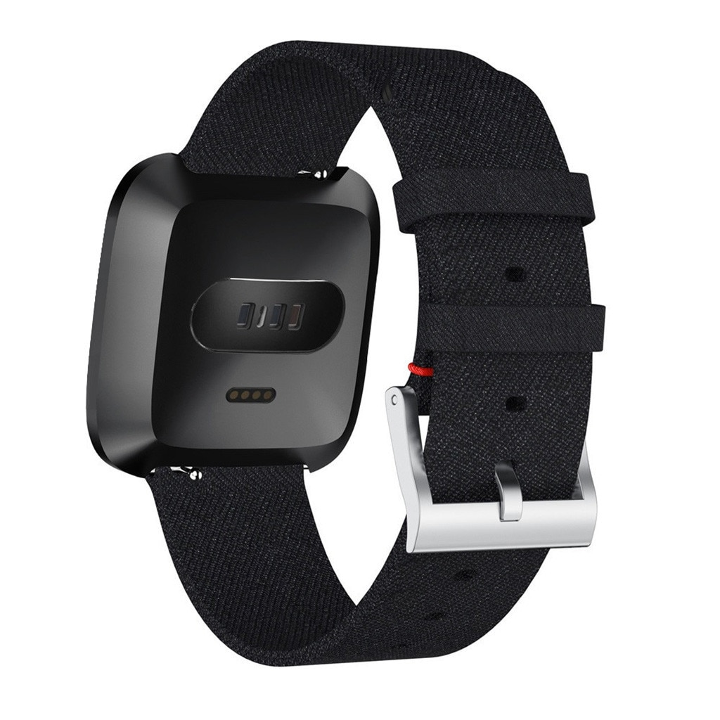 Smart Watch Strap Accessories Luxury Woven Fabric Replacement Accessories Wristband Straps For Versa