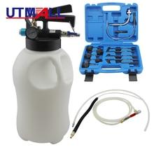 10 л пневматическая трансмиссия инструмент для розлива масла жидкости экстрактор диспенсер запасной насос набор инструментов с 13 шт. ATF адаптер