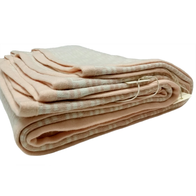 New Spring and Autumn new born baby blankets Double Jacquard Air Conditioning Unisex Letter F Knitted Cotton Boy girl Blanket