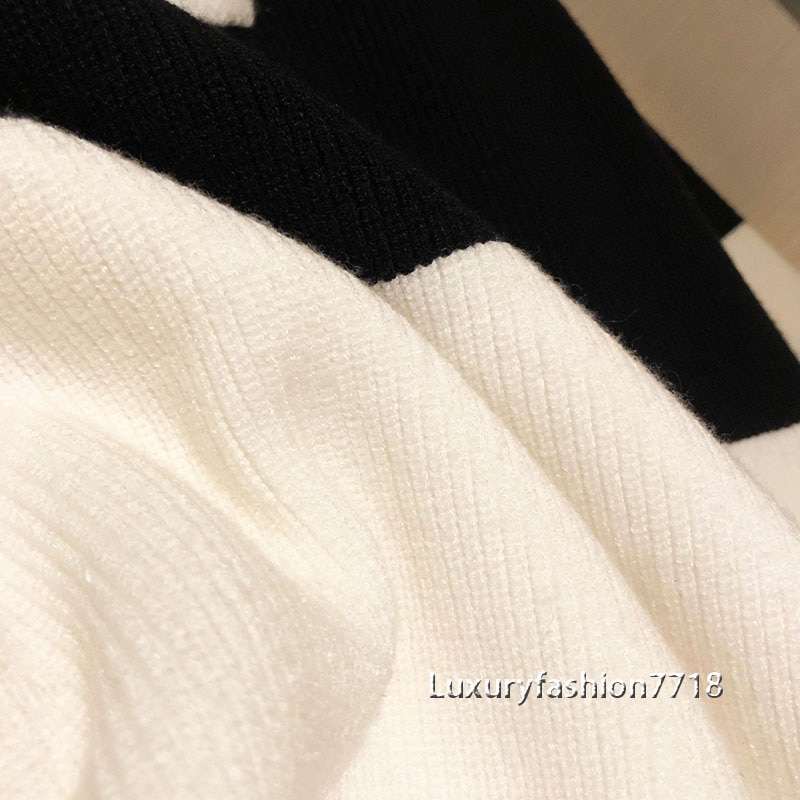 2021 New style fashion pullover sweaters for women clothes Crew neck cashmere sweater woman letter logo brand Knitted jumper S-L enlarge