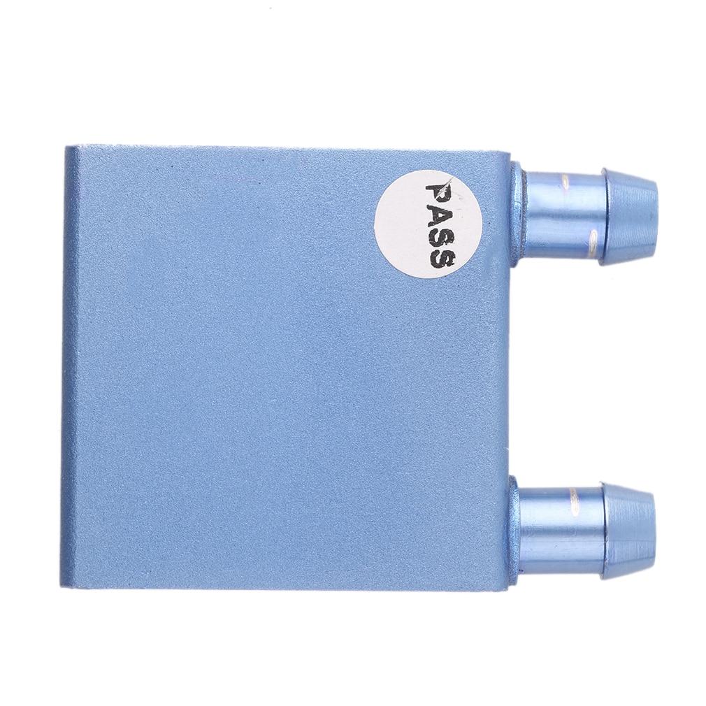 40*40*12mm fluxo canal de resfriamento do refrigerador de água do dissipador de calor bloco waterblock líquido vácuo alumínio brasagem processamento para cpu gpu
