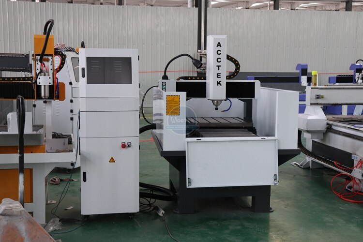 High Precision CNC Metal Router Engraving Machine For Aluminum Copper Chinese Factory Mini CNC Router Metal 6060 enlarge